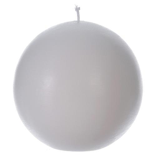 Bougie d'autel sphère 1