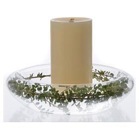 Podstawa pod świece RC szkło s2