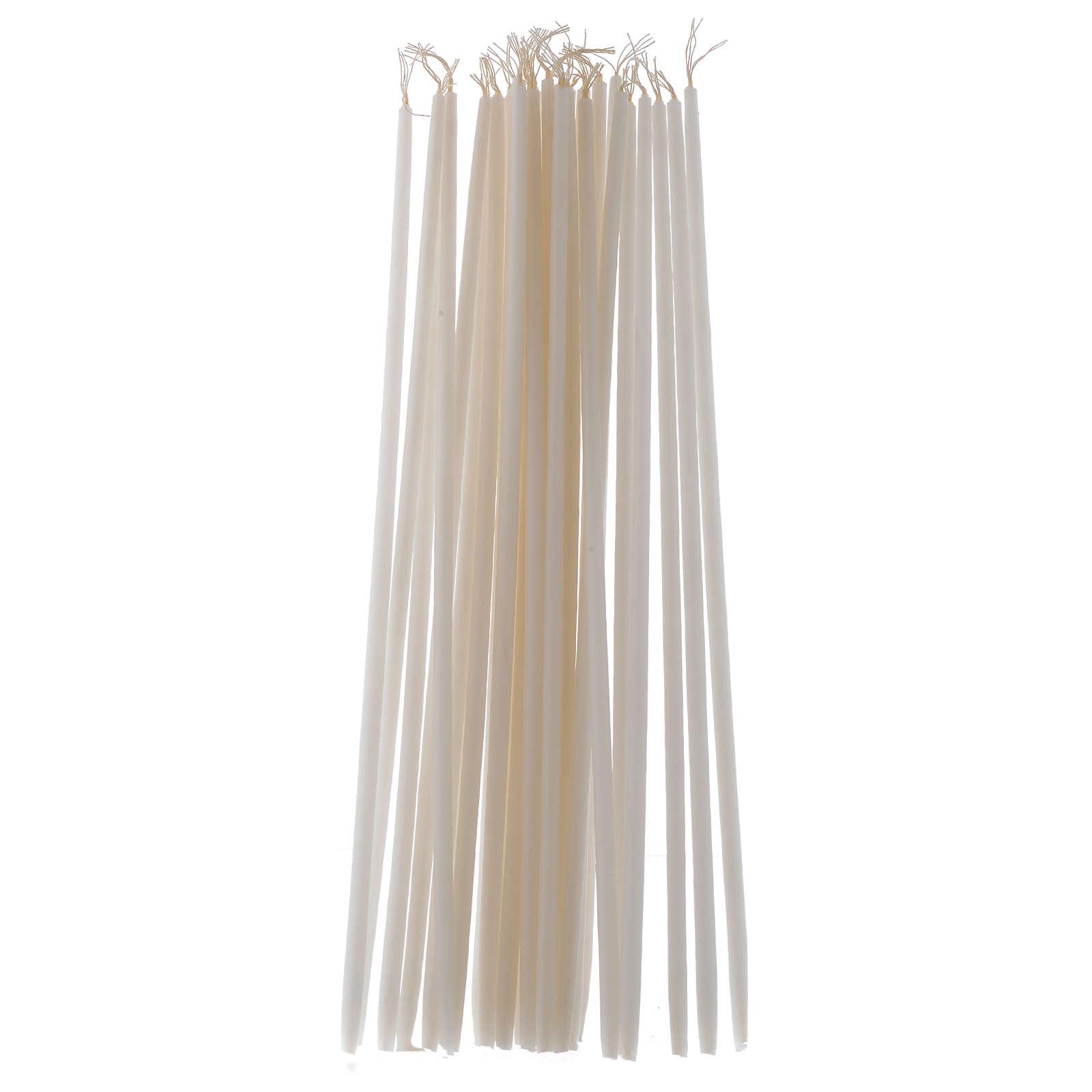 Świeczki bez kapiącego wosku (opakowanie 100 sztuk) 3