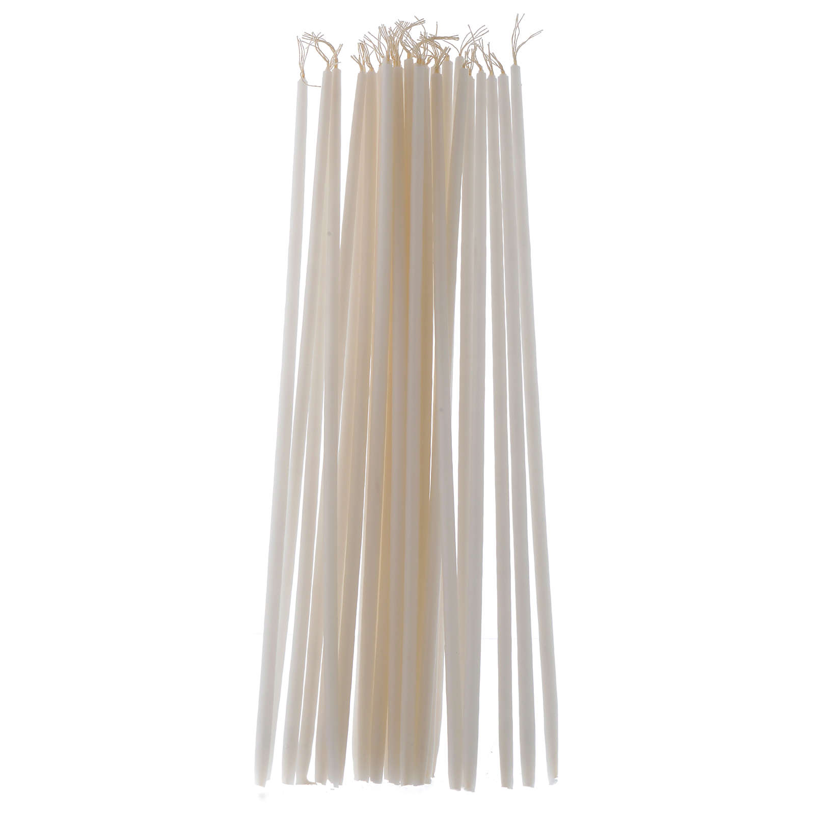 White Tape Candles Non-drippings - 100 pack 3