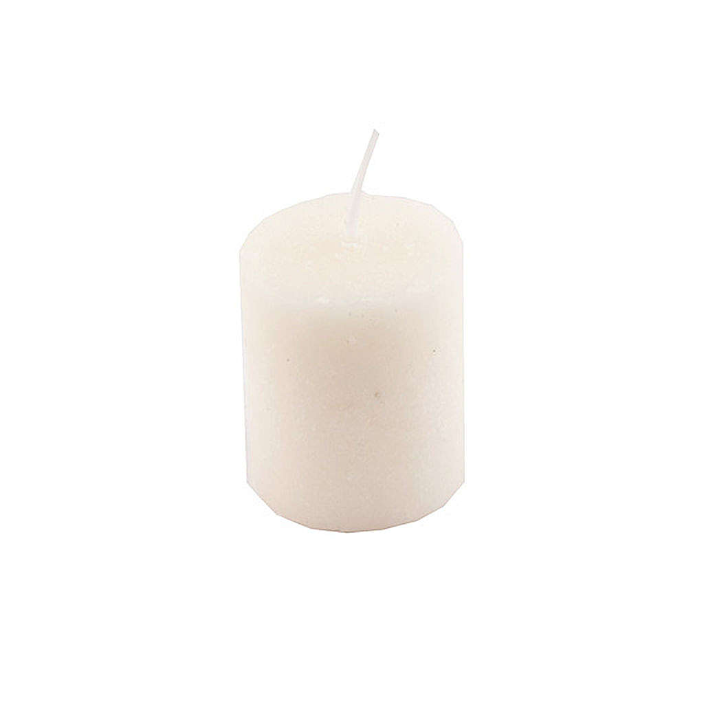 Peça sobressalente porta vela com vela protegida 3