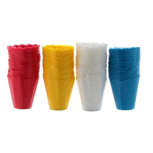 Protetor de vela papel para procissão (100 unidades) 5