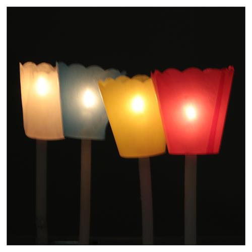 Protetor de vela papel para procissão (100 unidades) 4