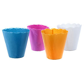 Paper candle cups (100 per box) s2