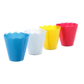 Candles, large candles: Paper candle cups (100 per box)