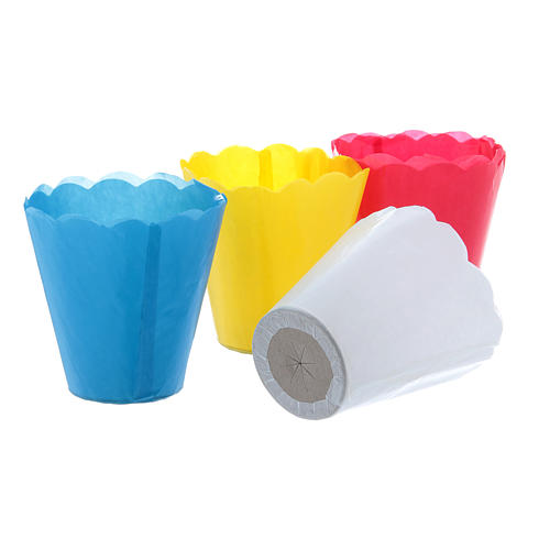 Paper candle cups (100 per box) 2