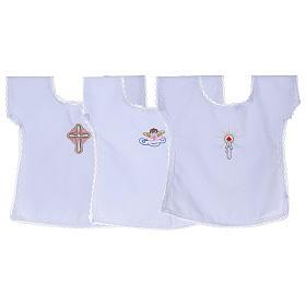 Szatki i świeczki: Koszulki do chrztu