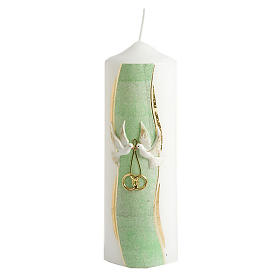 Hand Decorated Candle -Nuptiae s2