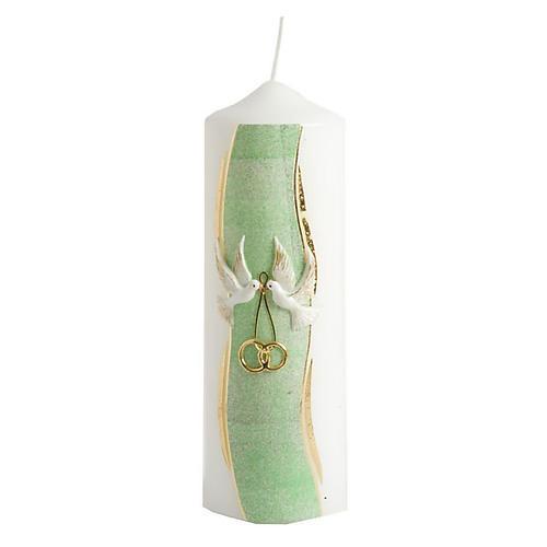 Hand Decorated Candle -Nuptiae 2