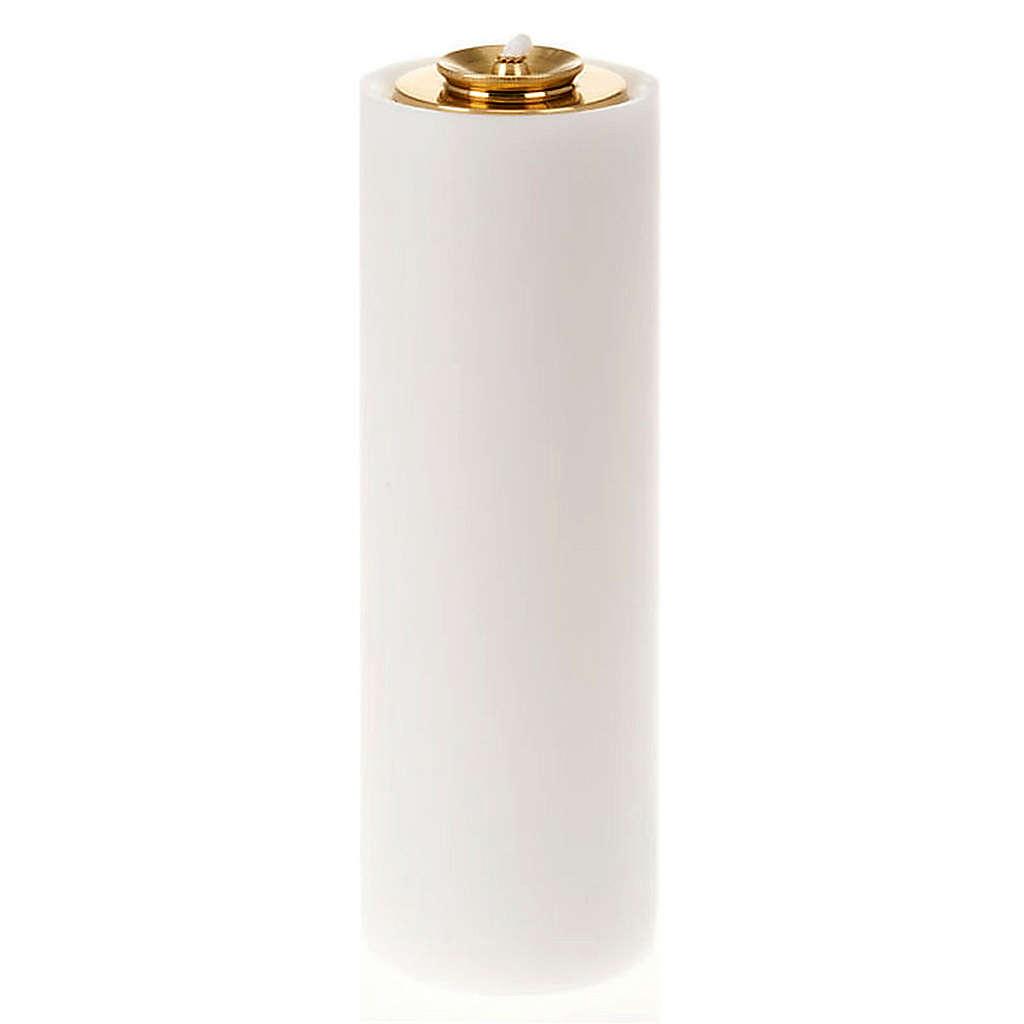 Cierge en PVC, réservoir en verre 3