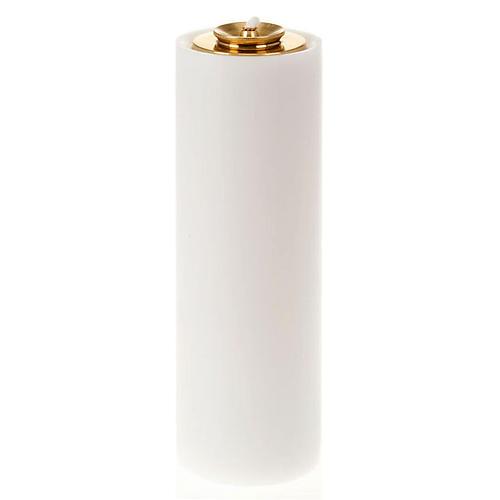 Cierge en PVC, réservoir en verre 1