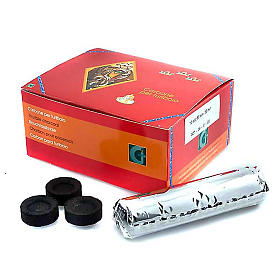 Incense charcoals: Professional charcoals (7s, 40s,72m)
