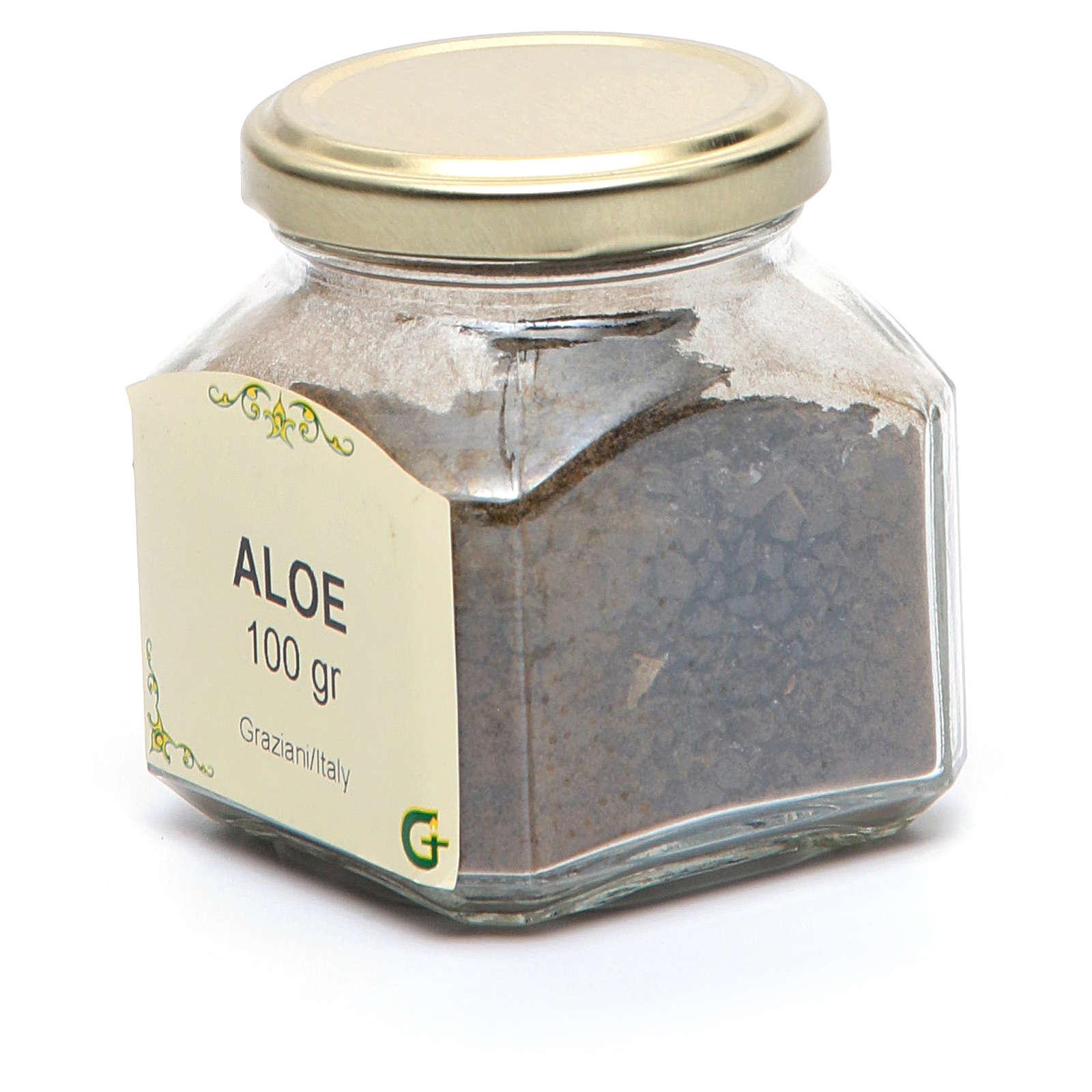 Aloe resin 3