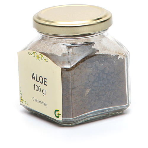 Aloe resin 2