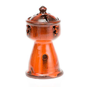 Ethiopian coloured incense-burner s2