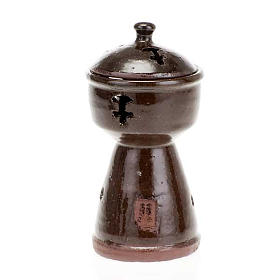 Ethiopian coloured incense-burner s4