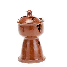 Ethiopian coloured incense-burner s5