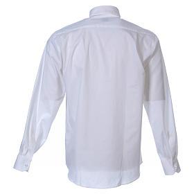 STOCK Camisa m. larga popelina blanca s2