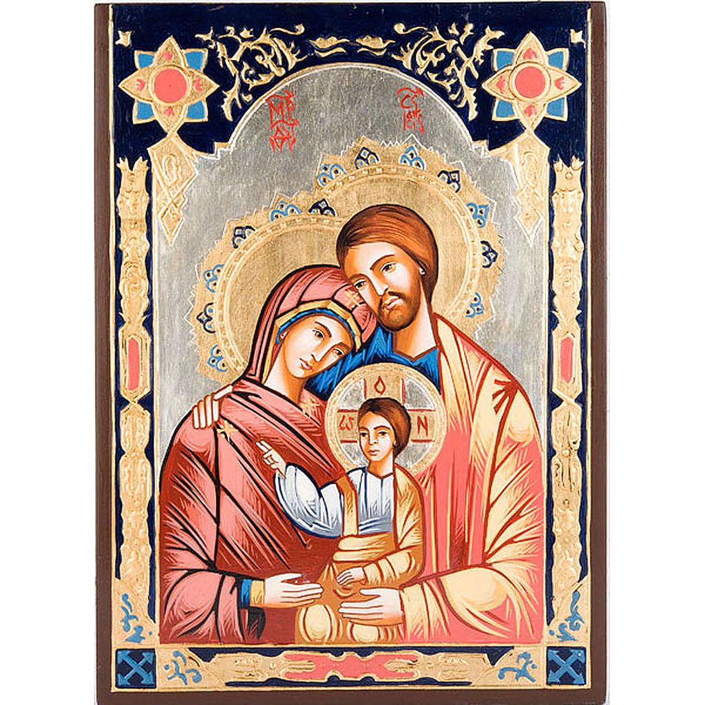Sainte Famille, décors et paillettes 4