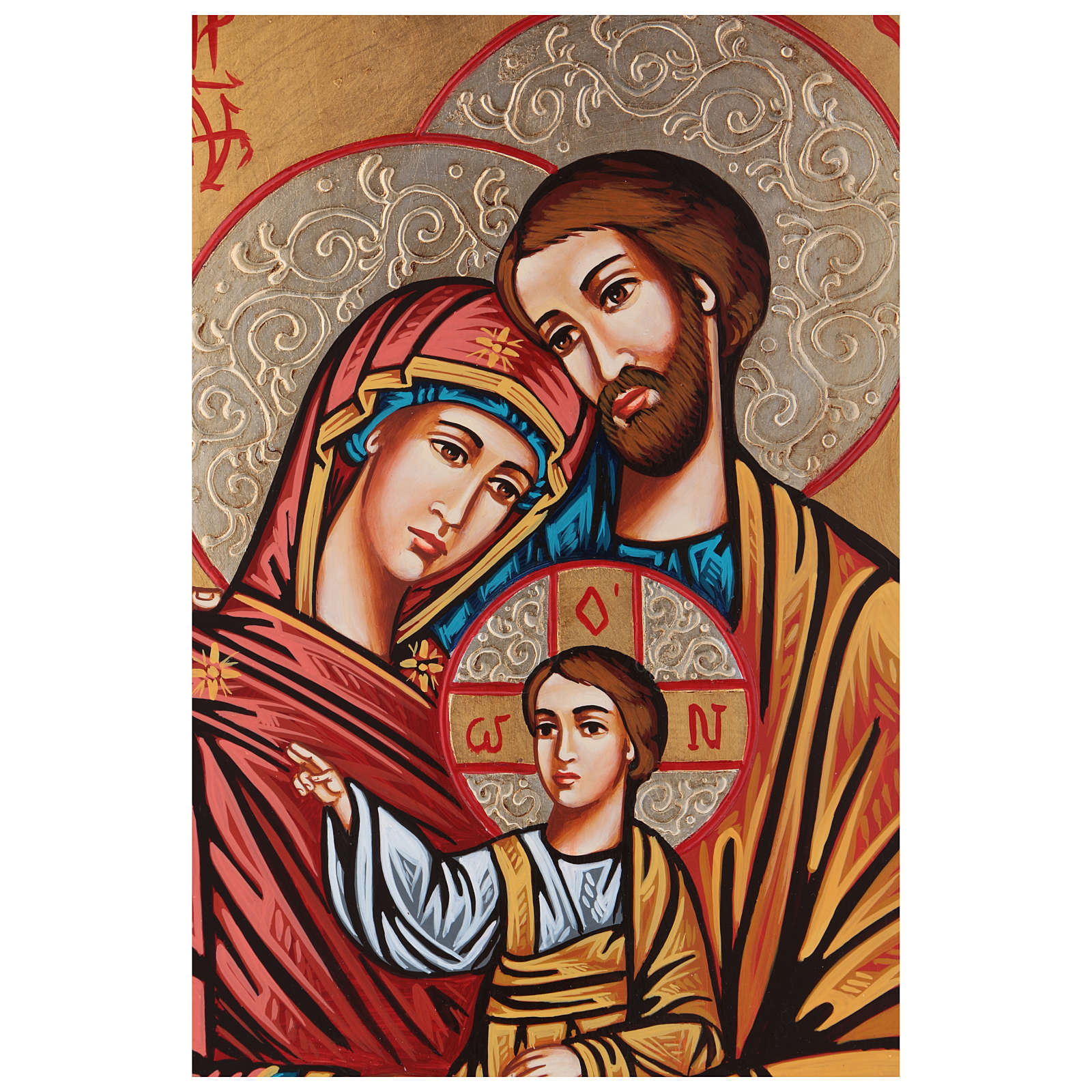 Holy Family, golden fret 4