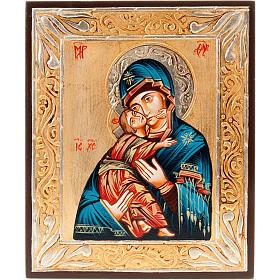 Icona Romania Vergine di Vladimir s1