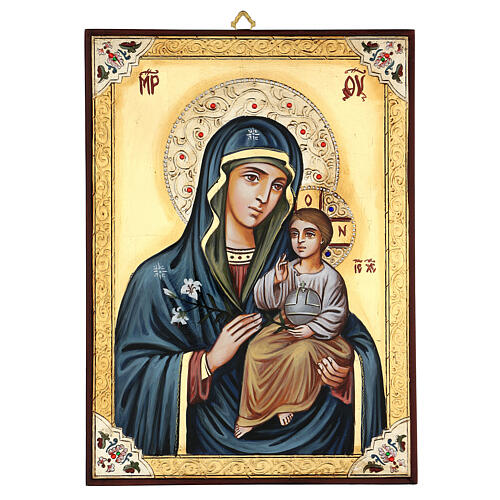 Vierge Odighitria et paillettes 1