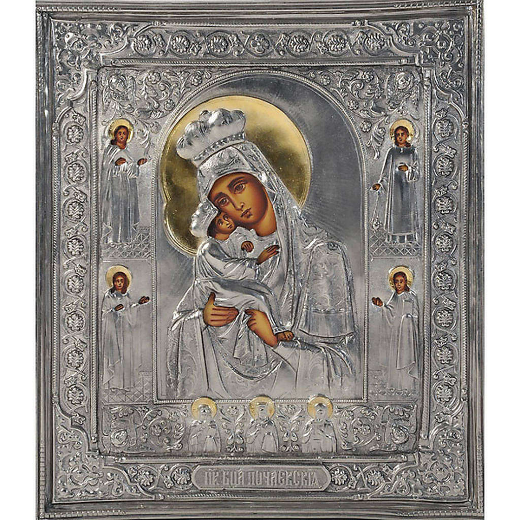 Vergine di Poczajevsk argento opaco 4