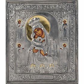 Vergine di Poczajevsk argento opaco s1