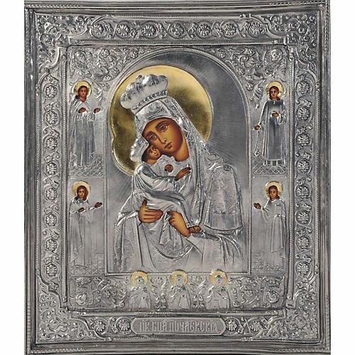 Vergine di Poczajevsk argento opaco 1