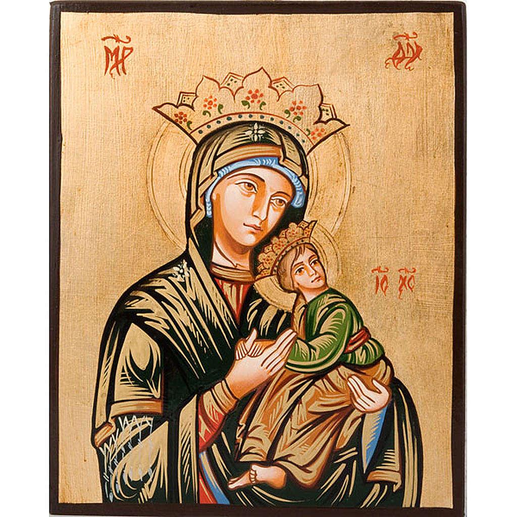 Icona Vergine della passione 4