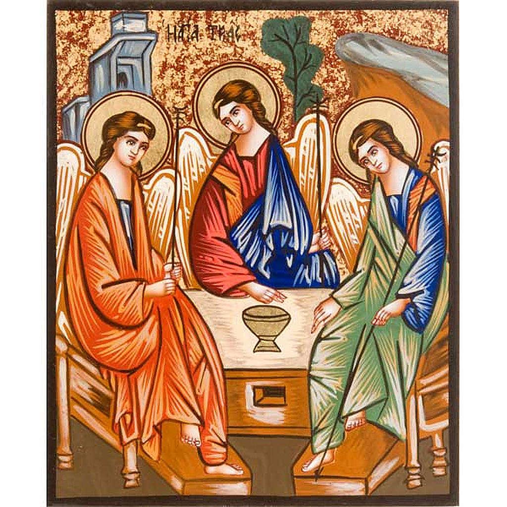 Icona SS Trinità di Rublev 4