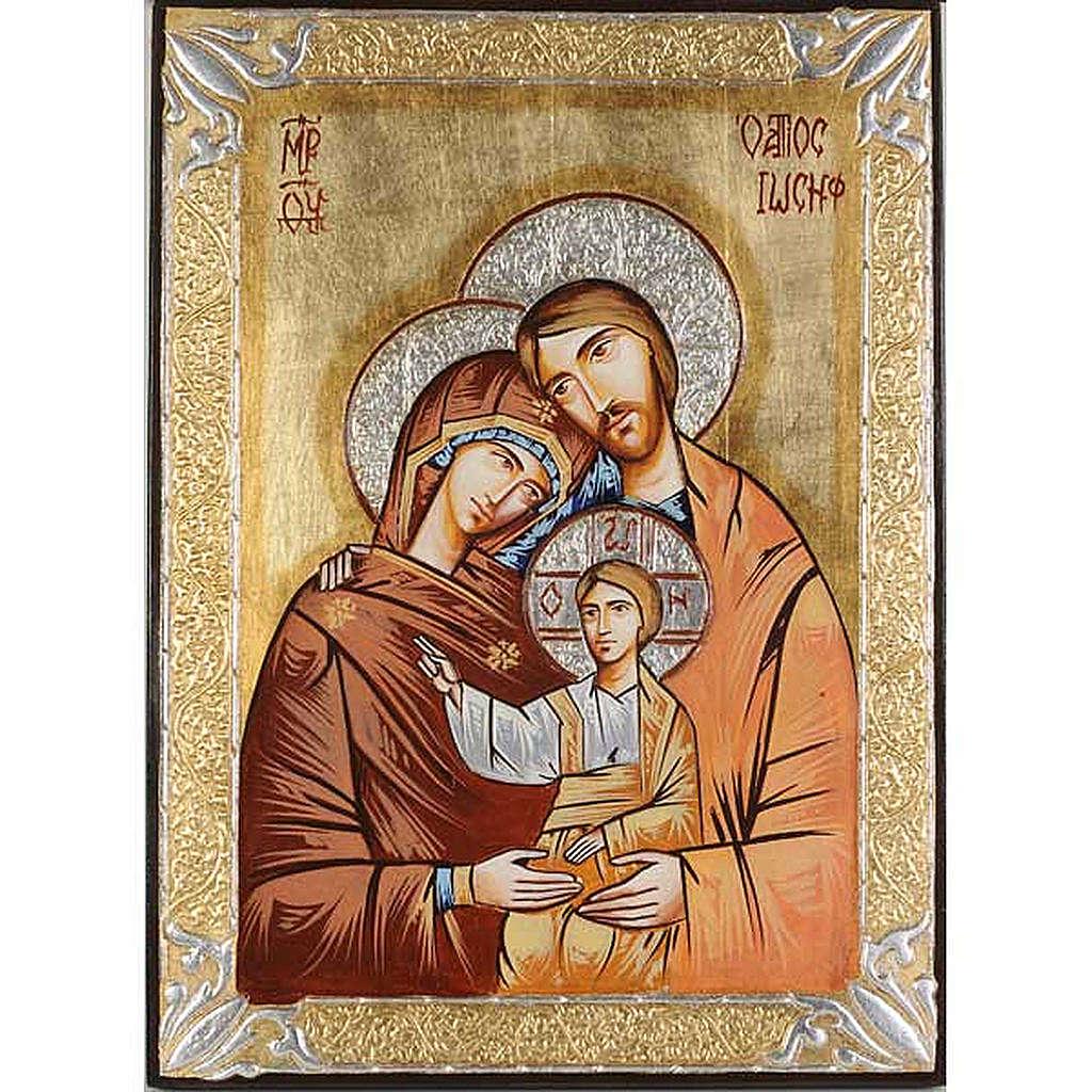 Icona Sacra Famiglia rumena 4