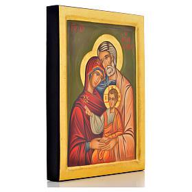 Icona greca Sacra Famiglia s2