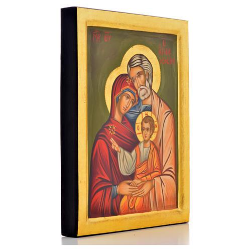 Icona greca Sacra Famiglia 2