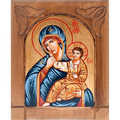 Icona Madre di Dio gioia e sollievo Romania 1