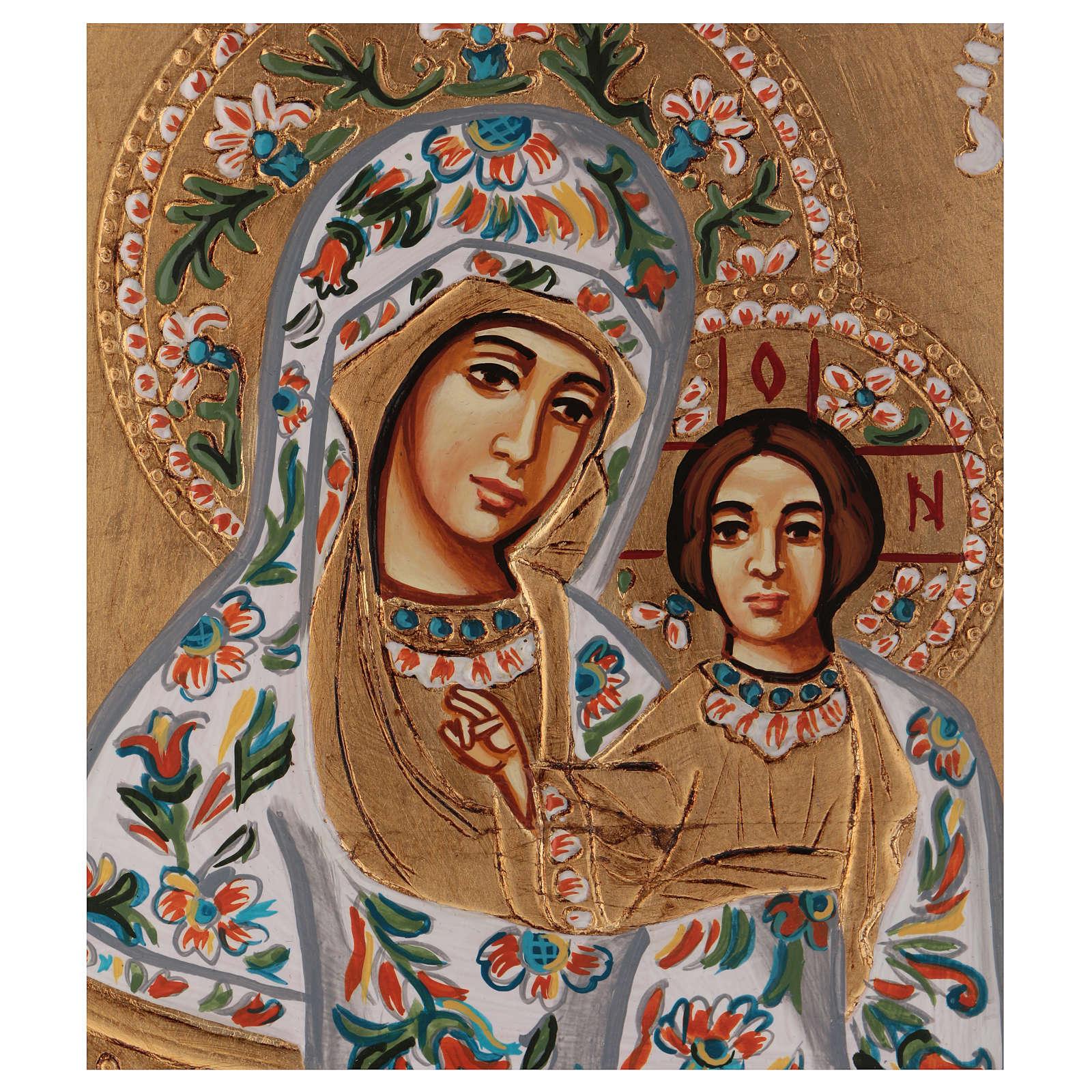 Ícono Virgen de Kazan 4