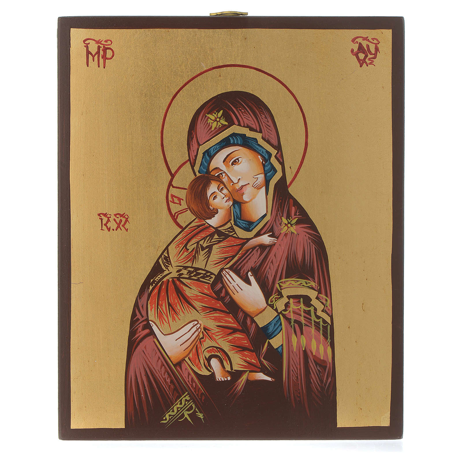 Icona Vergine di Vladimir 4