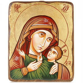 Rumanian hand-painted icons: Mother of God Kasperov