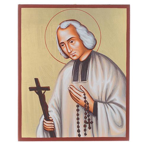 Icône du Saint Curé d'Ars 1