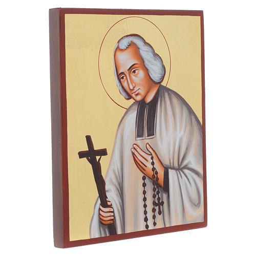 Icône du Saint Curé d'Ars 2
