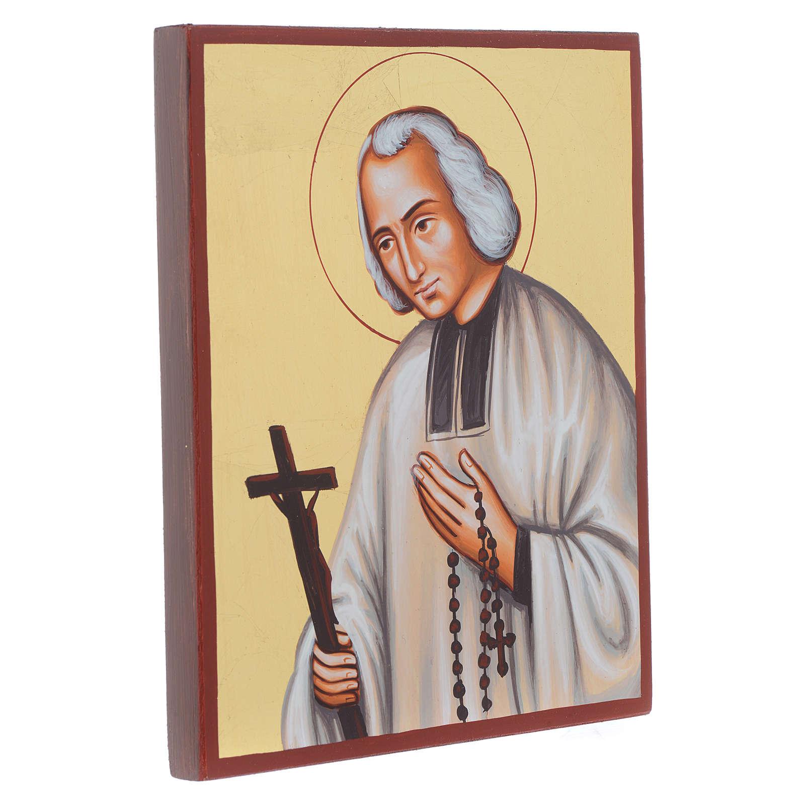Icona del Santo curato d'Ars 4