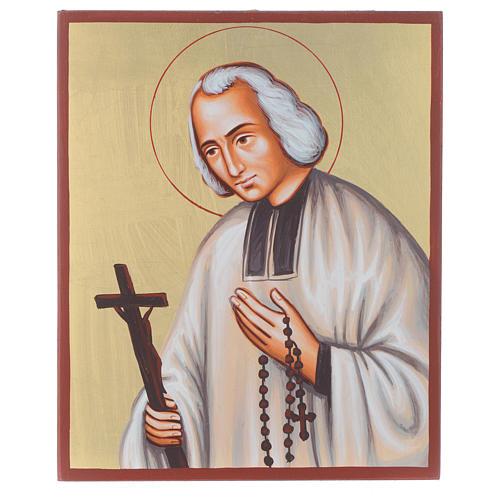 Icona del Santo curato d'Ars 1