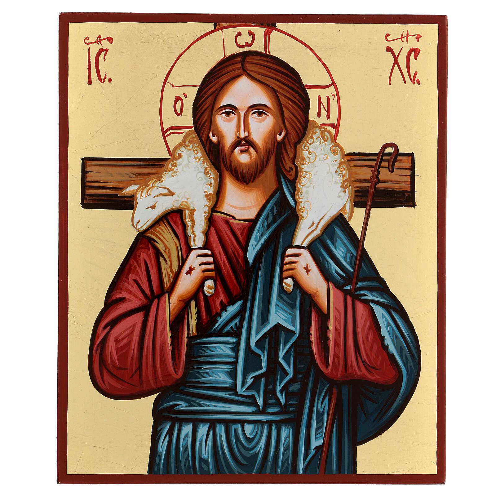 Icona del Buon Pastore 4