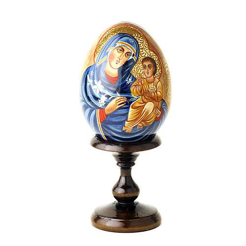 Uovo-Icona Maria fiore immarcescibile 1