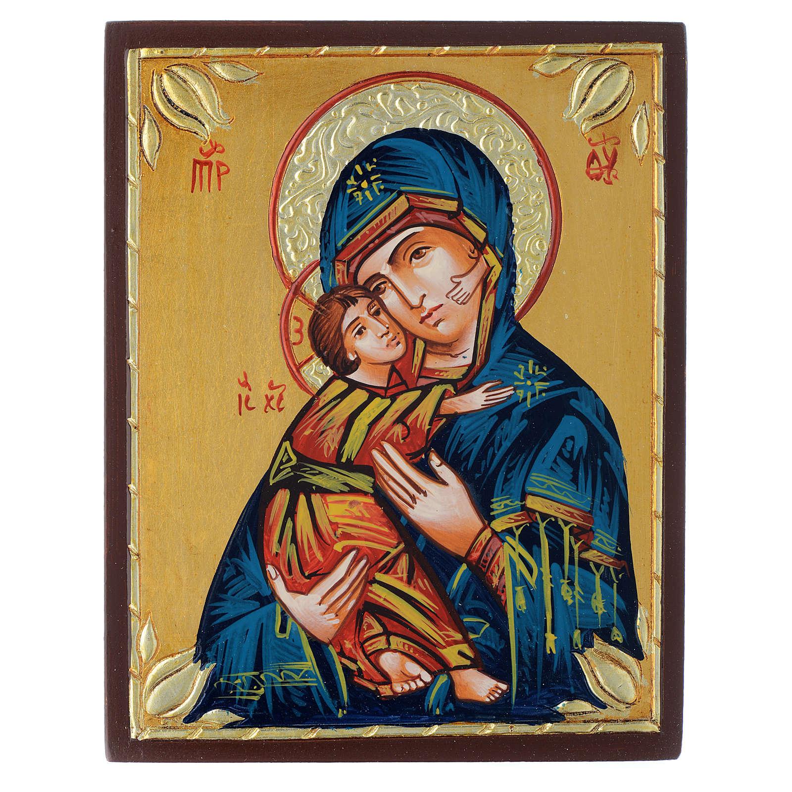 Virgen de Vladimir media 4