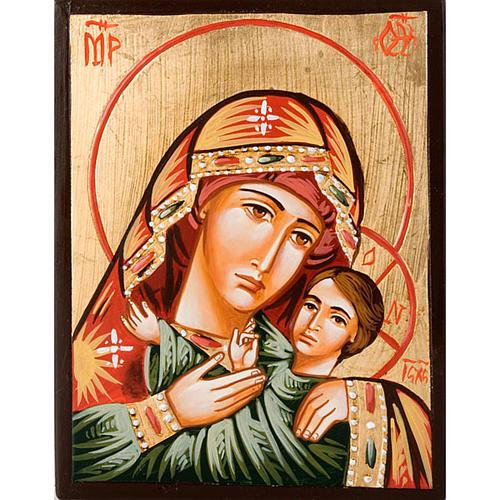 Icon of the Virgin of Vladimir Hodegetria 1