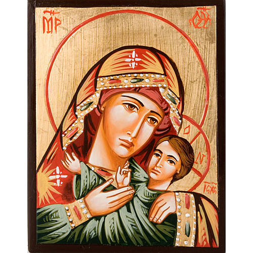 Icon of the Virgin of Vladimir Hodegetria 1