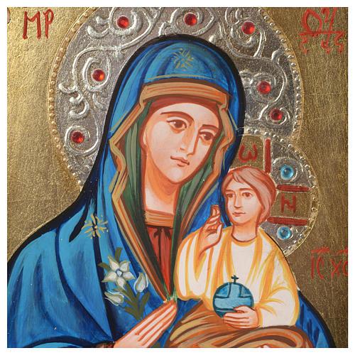 Icona Vergine Odighitria 2