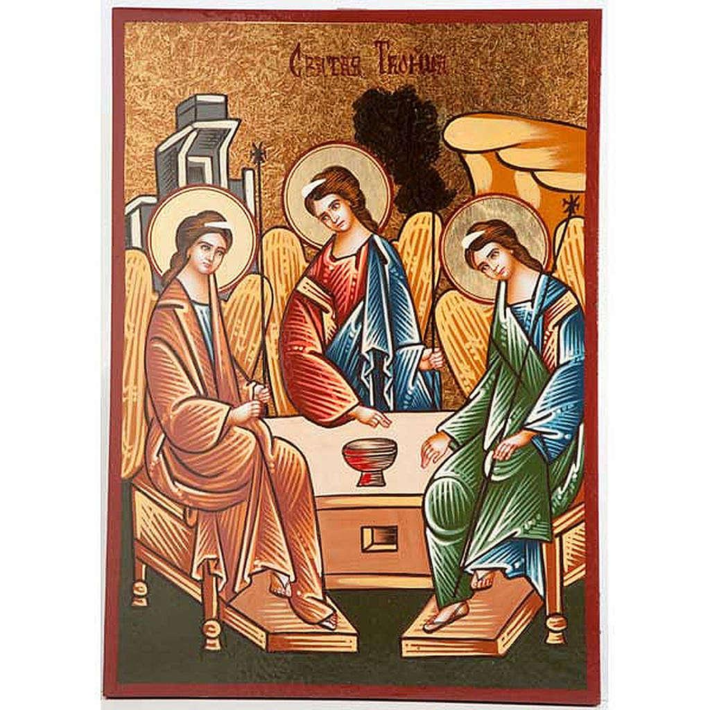 Icona SS Trinità di Usakov 4