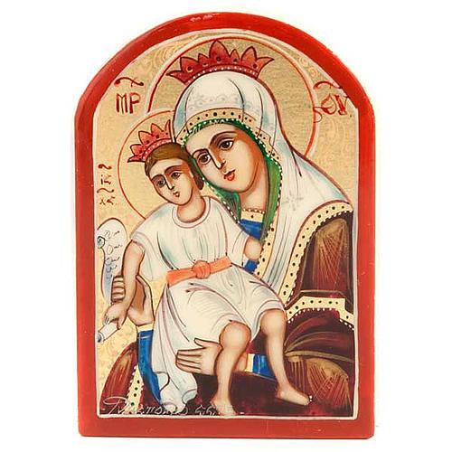 Icona Vergine Glikofilussa miniatura 1